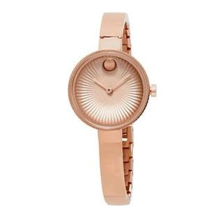 Ladies Movado Bold Rose Gold Edge Watch